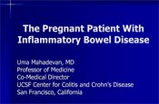 The Pregnant Patient With Inflammatory Bowel Disease