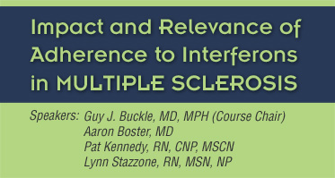 Impact and Relevance of Adherence to Interferons in Multiple Sclerosis