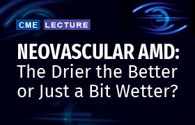 Neovascular AMD: The Drier the Better or Just a Bit Wetter?