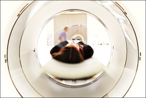 Image of CT scan