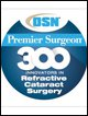 OSN Premier Surgeon 300 Innovators in Refractive Cataract Surgery