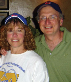 Dr. Packer with his wife Bashi