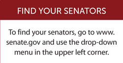 Find your senators