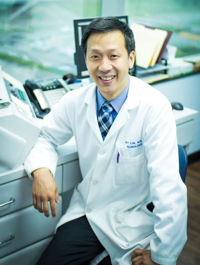 Albert P. Lin, MD, believes OCT is useful in assessing glaucoma progression because of its ability to accurately measure retinal nerve fiber layer thickness.