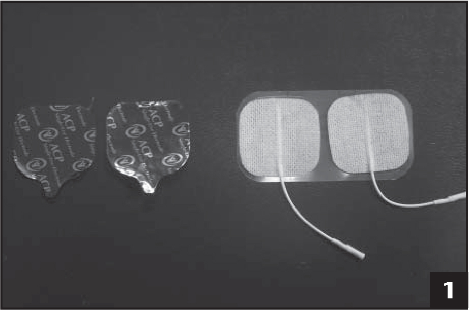 Single-use electrode (left) and multiple-use electrode (right).