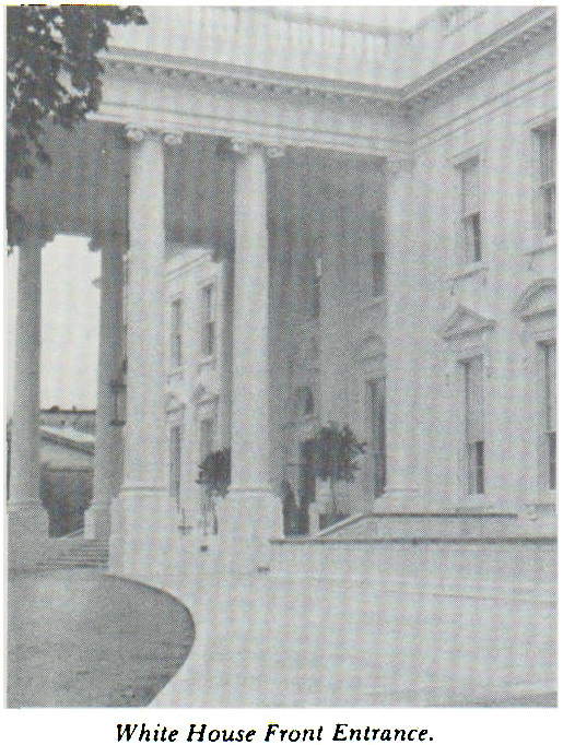 White House Front Entrance.