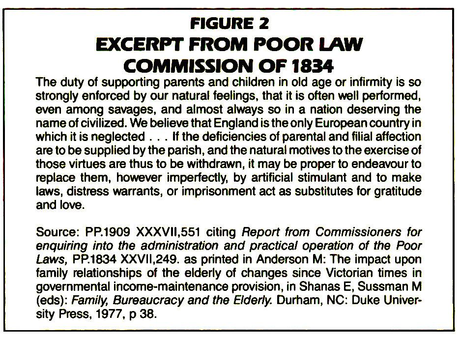 FIGURE 2EXCERPT FROM POOR LAW COMMISSION OF 1834