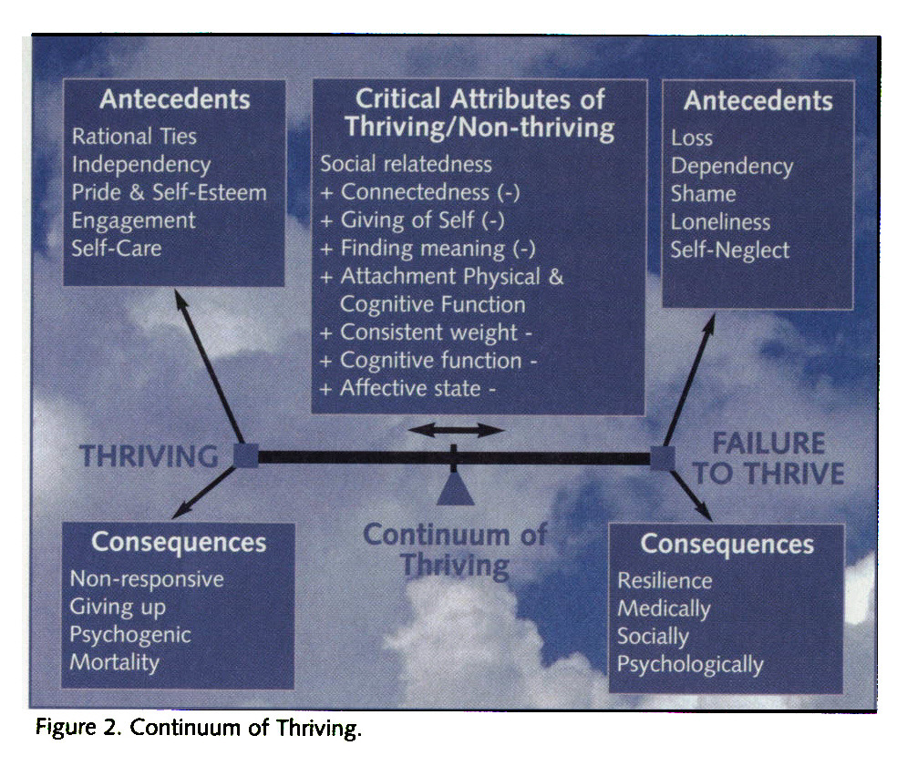 Figure 2. Continuum of Thriving.