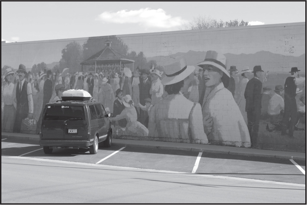 Participant photograph of a mural.