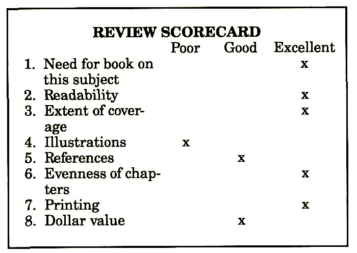 REVIEW SCORECARD