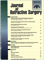 Journal of Refractive Surgery