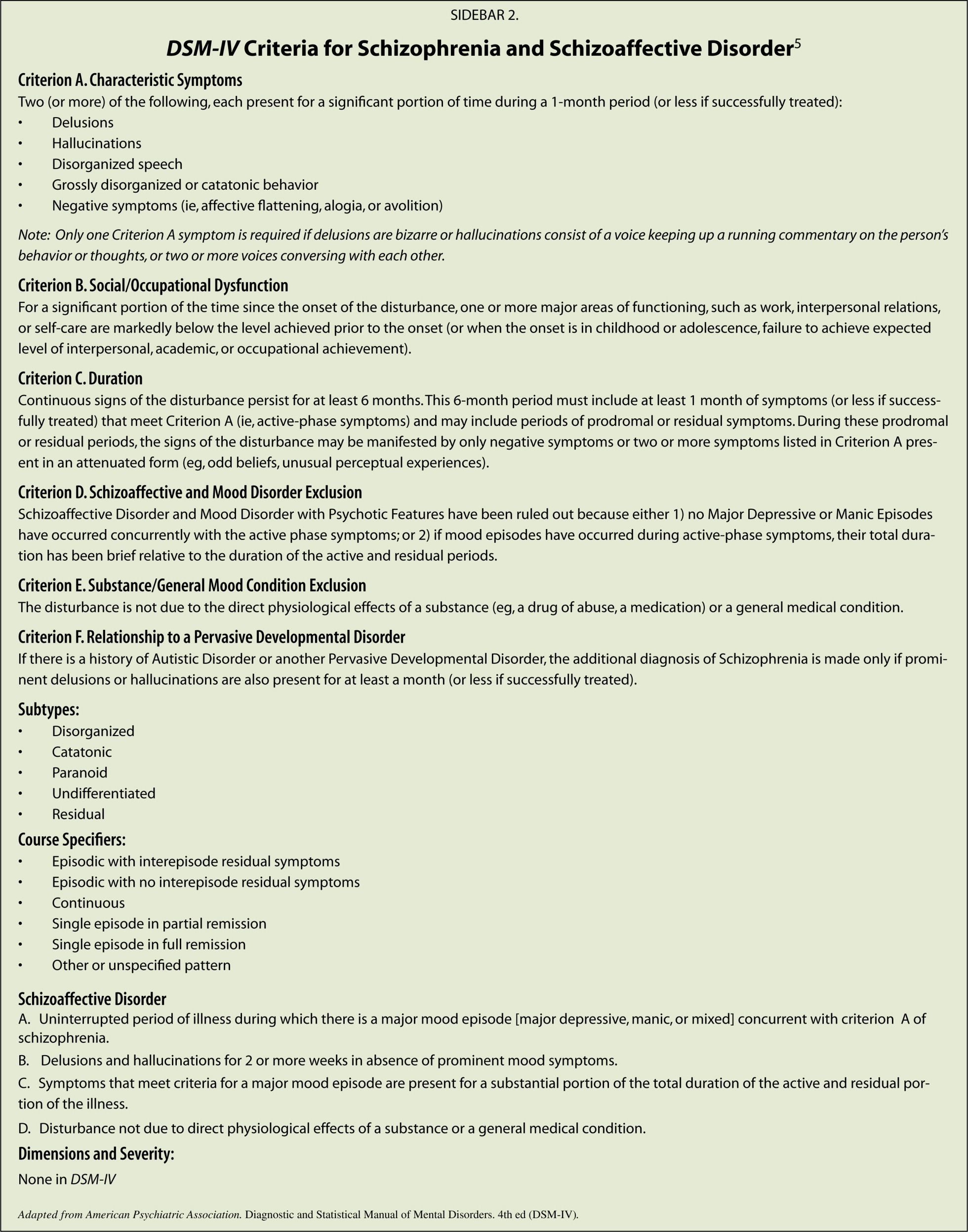 schizoaffective disorder research paper View notes - psy521- research review paper on schizophrenia spectrum disorders from psy 614 at medaille running head: research review on schizophrenia research review paper on schizophrenia spectrum.