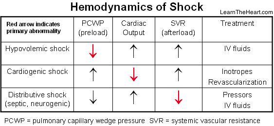 HemodynamicsShock