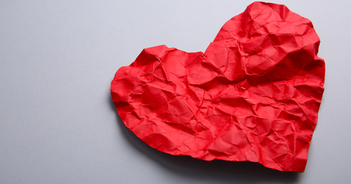 Heart crumple 2019 Adobe